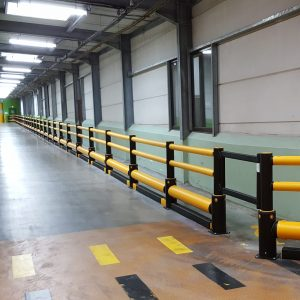 Barrière flexible en MEMAPLEX iFlex Traffic Plus Barrier