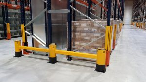 Protections de rack flexibles industrielles